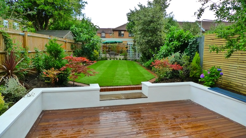Clapham landscaping landscape garden clapham balham for Garden decking design ideas